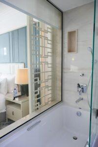 Amavi Hotel Bathtub and show