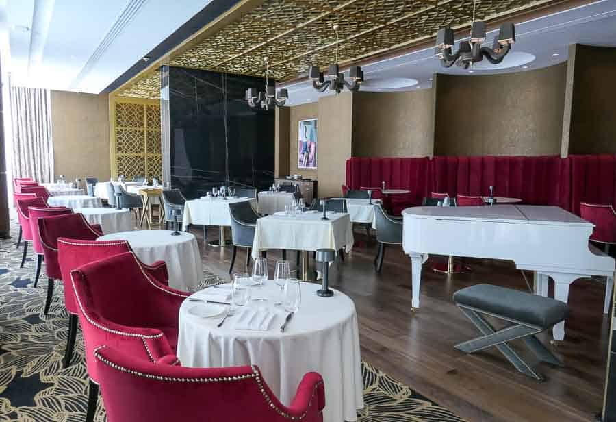 Nocturne Restaurant, Amavi Hotel, Paphos