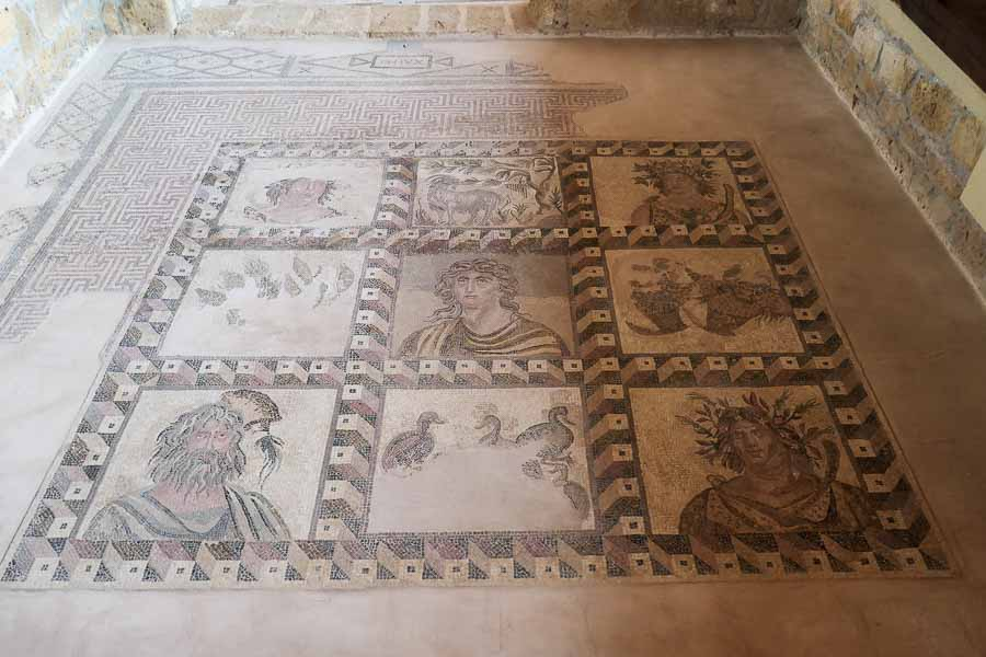 House of Four Seasons Mosaic, Paphos, Cyprus
