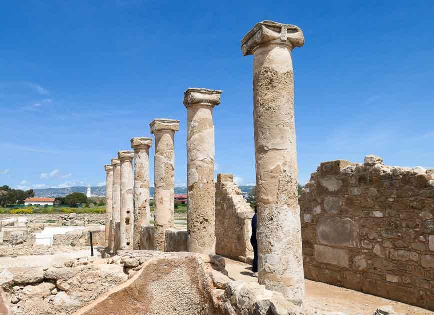 House of Theseus, Paphos, Cyprus