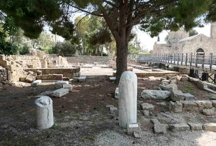St Pauls Pillar, Paphos, Cyprus