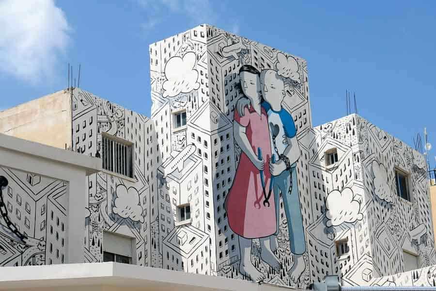 Street Art, Paphos, Cyprus