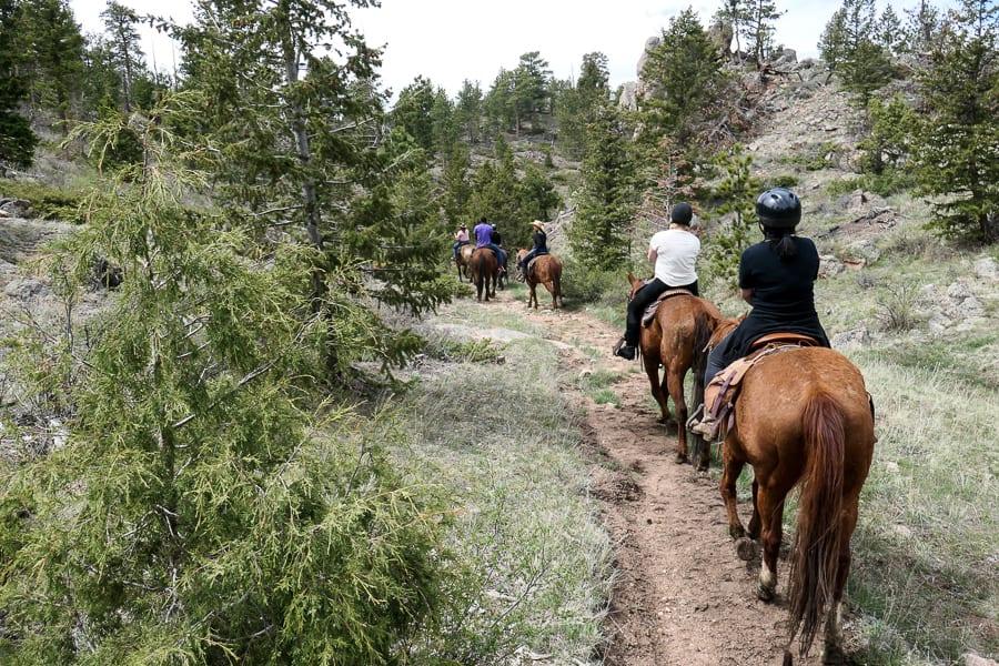 Colorado horse back riding