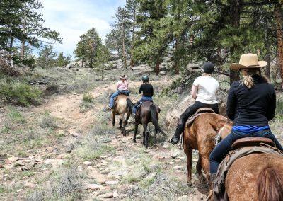 Saddling up on a Colorado Dude Ranch Holiday