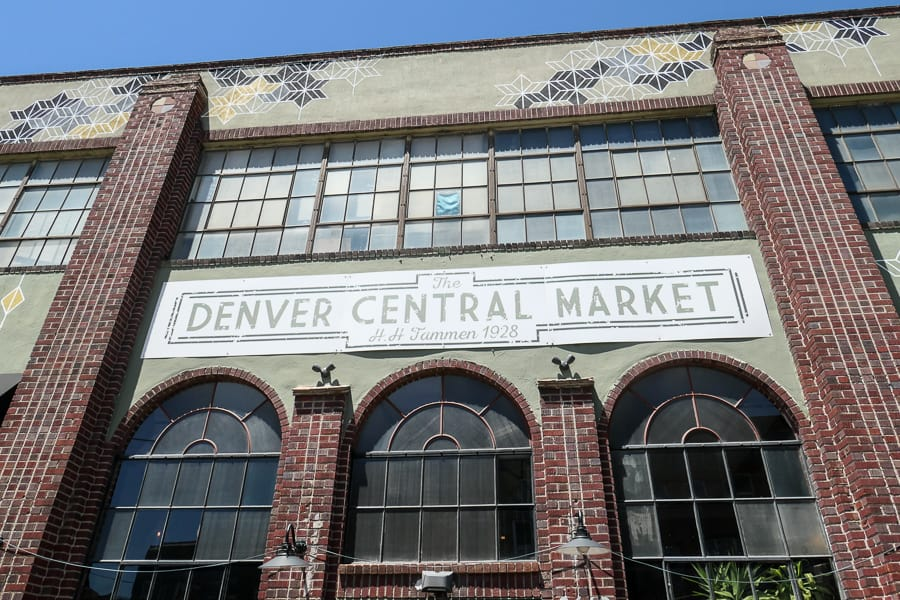 Denver Central Market facade