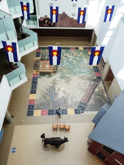 Main Atrium History Colorado Center