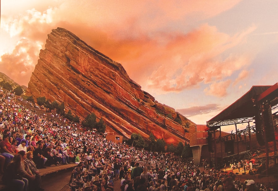 Red Rocks Amphitheatre Denver