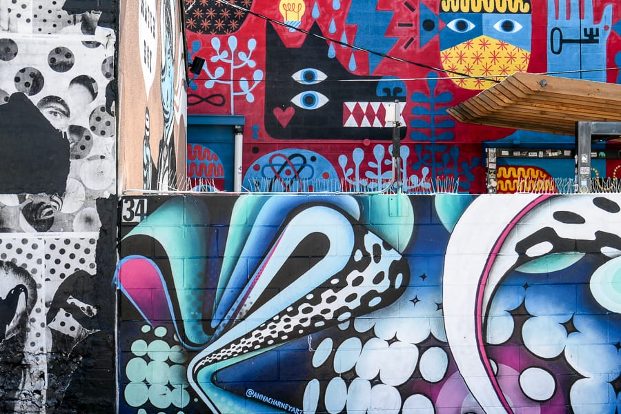2-day Denver itinerary - Murals and street art