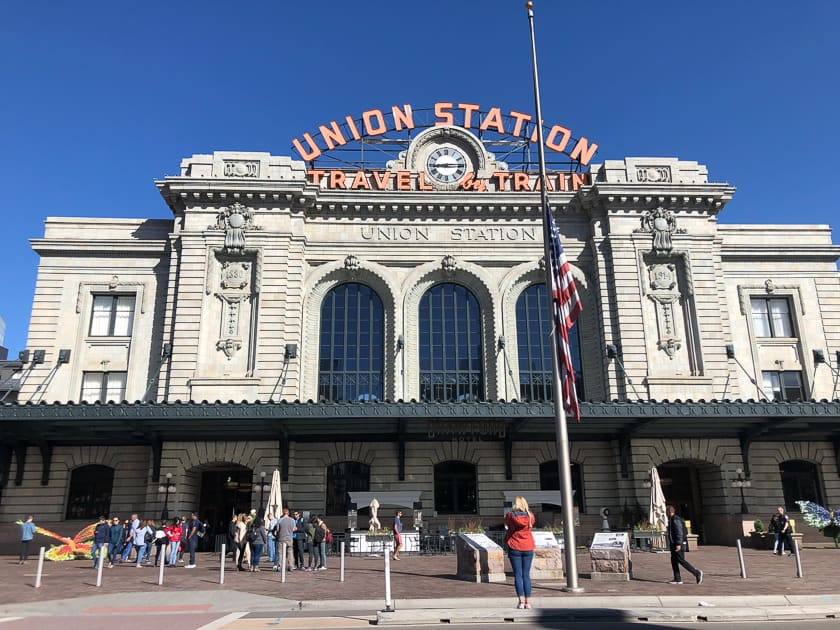 Union Station facade, Denver