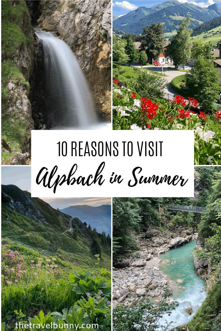 Alpbach in Summer