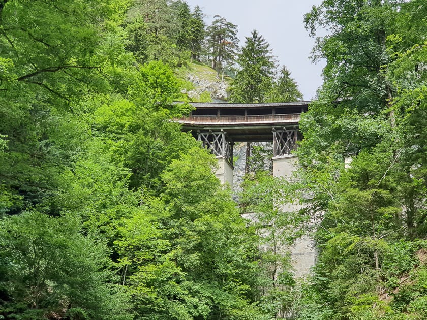 High Bridge in Stans