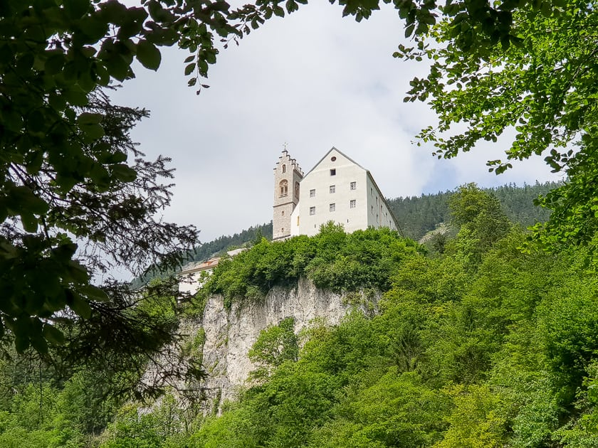 St Georgenberg Monastery on cliff