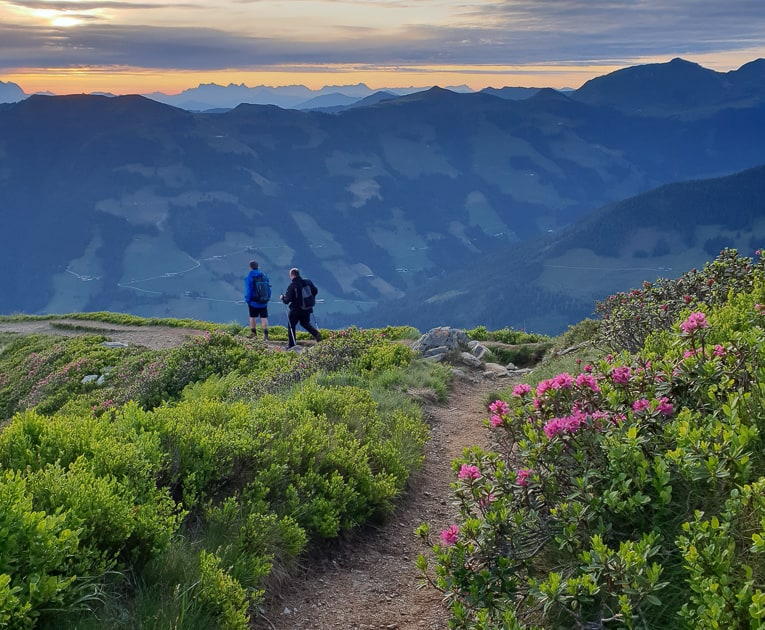 Sunrise Hike in Alpbach, Tirol