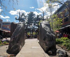 Boulders in Boulder, Colorado