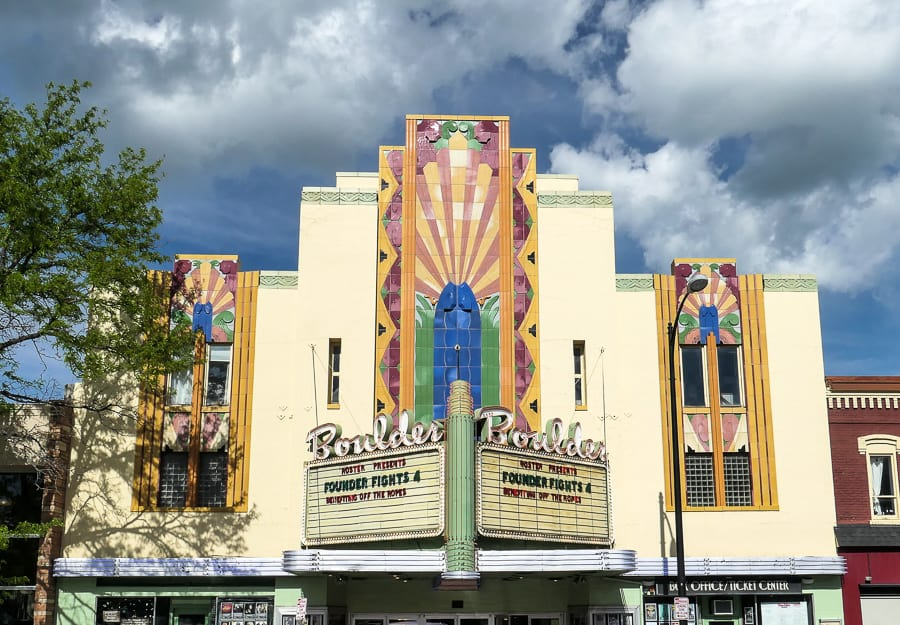 Art Deco Theatre Boulding