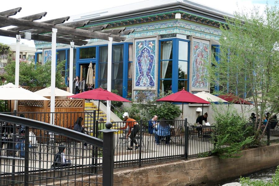 Dushanbe Teahouse, Boulder