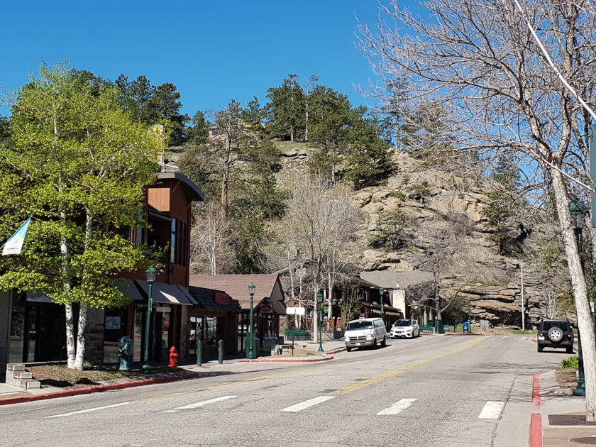 Estes Park Main Street