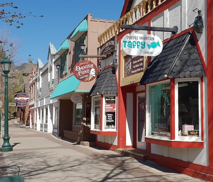 shops in Estes Park