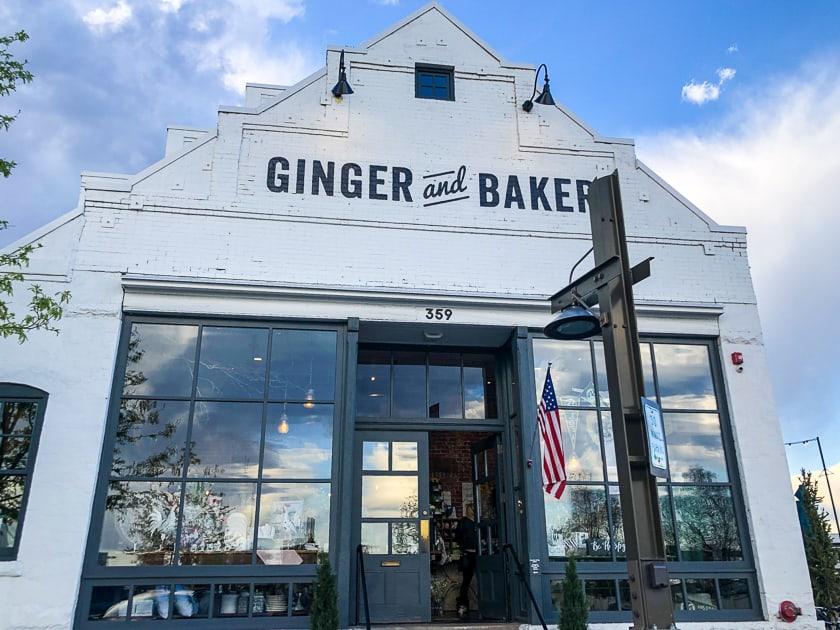 Ginger and Baker