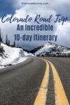 Colorado Road Trip Itinerary