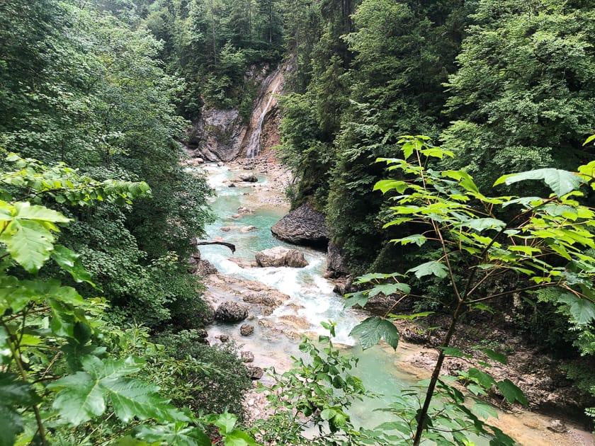 Brandenderger Ache River, Austria