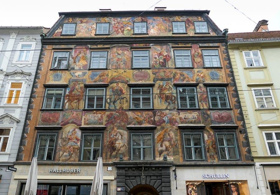 Herzoghof, Painted House, Graz