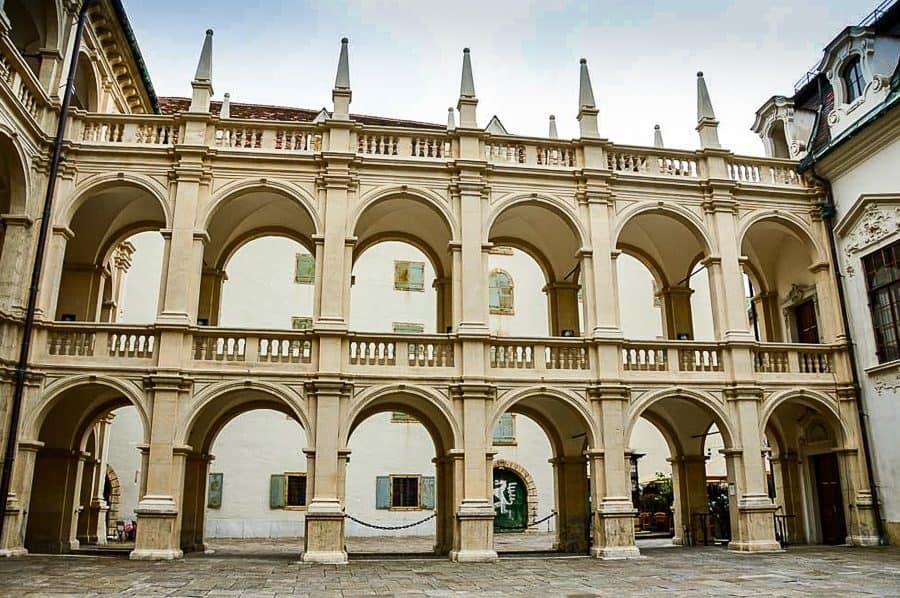 Landhaus Courtyard, Graz