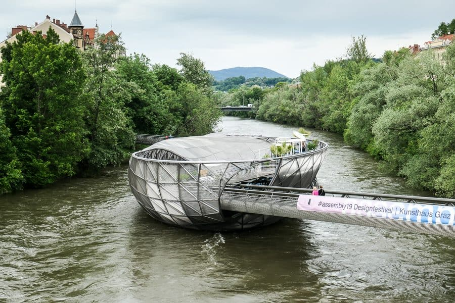 Murinsel Island Graz