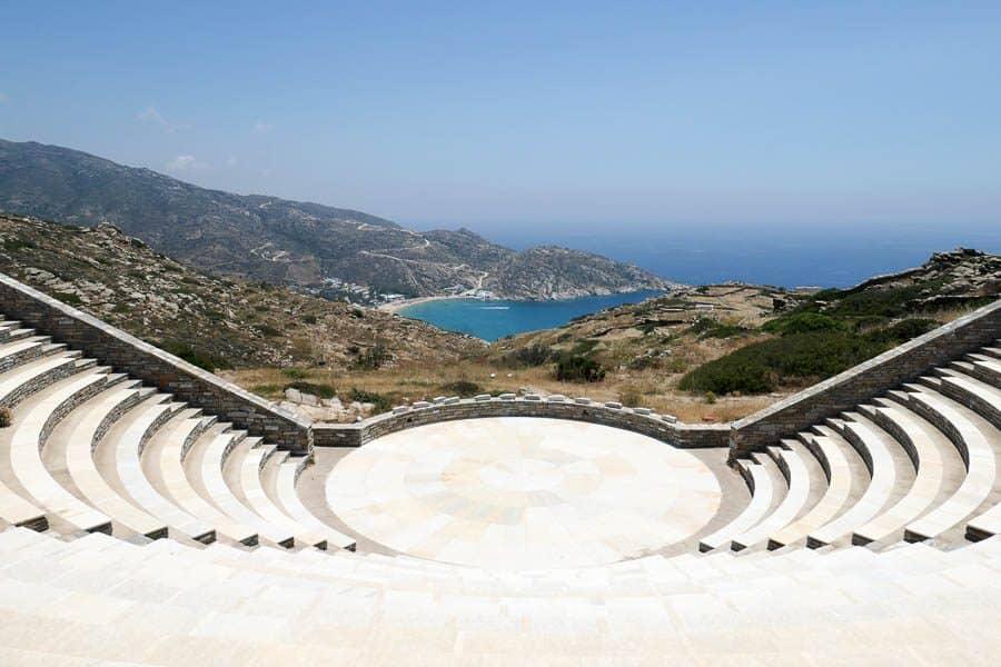 Odysseas Elytis open-air theatre Ios Greece