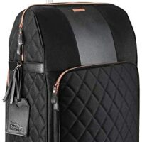 Cabin Max Carry on Luggage Rose Gold Suitcases with Wheels