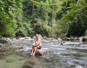 River at La Fortuna, costa Rica