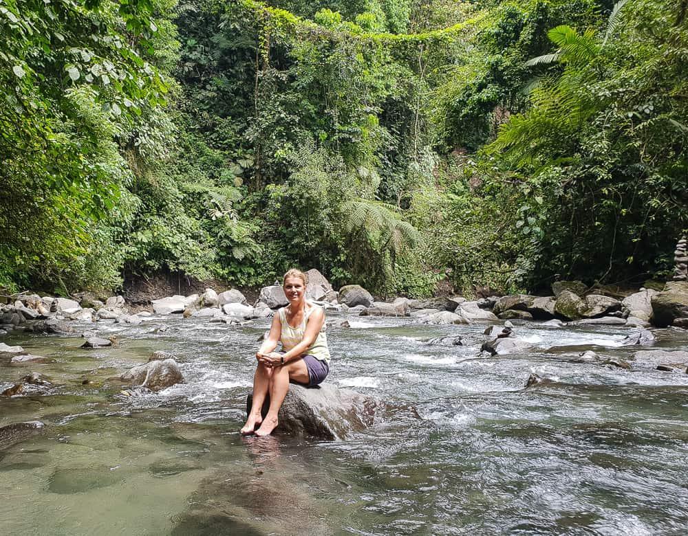 River at La Fortuna, costa Rica
