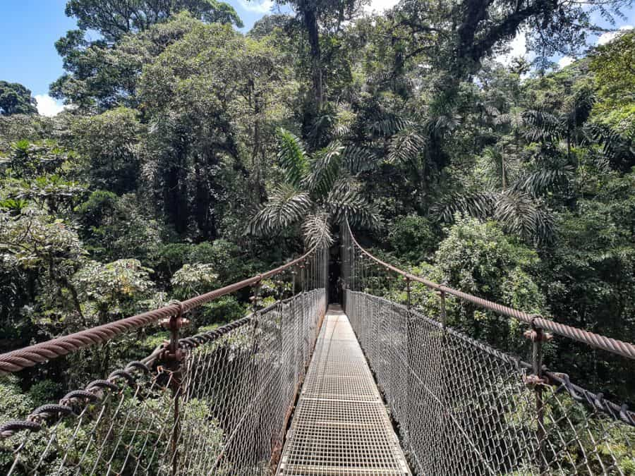 Mistico Hanging Bridges, La Fortuna