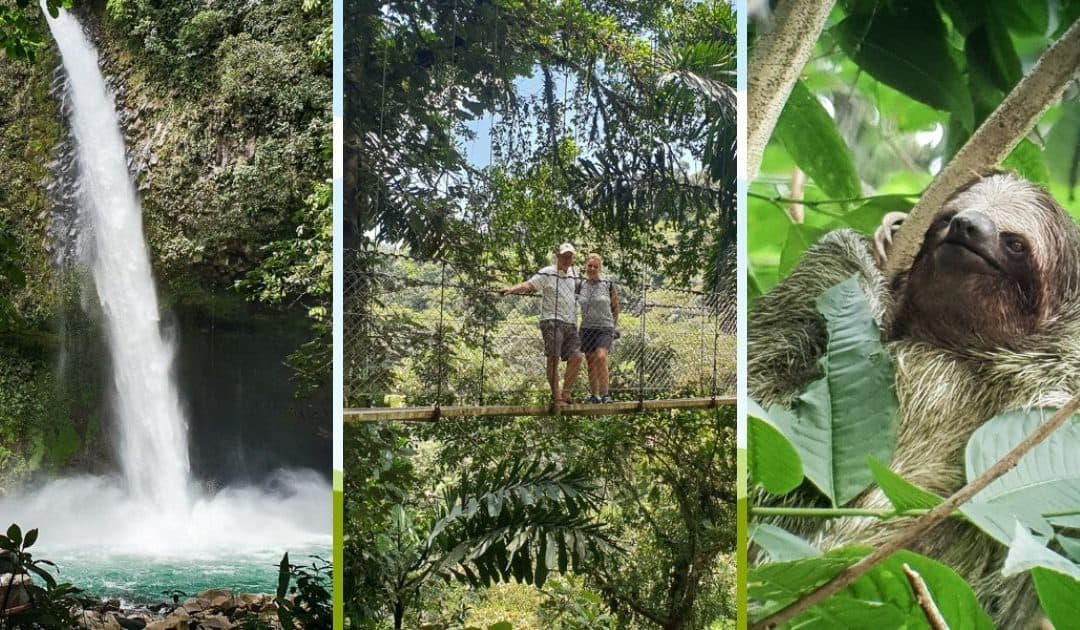 Wildlife, waterfalls and volcano walks in La Fortuna, Costa Rica