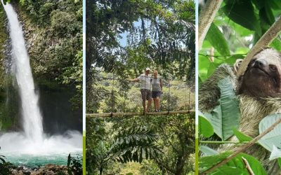 Wildlife, waterfalls and volcano walks in La Fortuna, Costa Rica