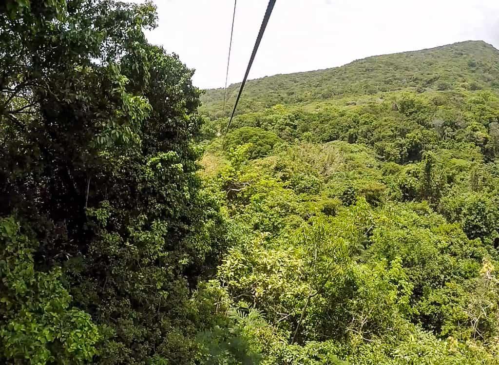 zip-line, Costa Rica