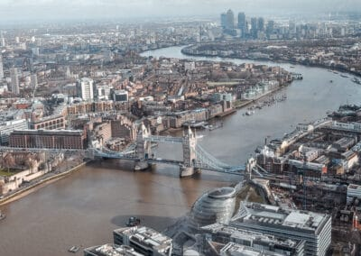 London – the view from the Shard