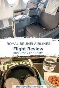 Royal Brunei Airlines Dreamliner flight review