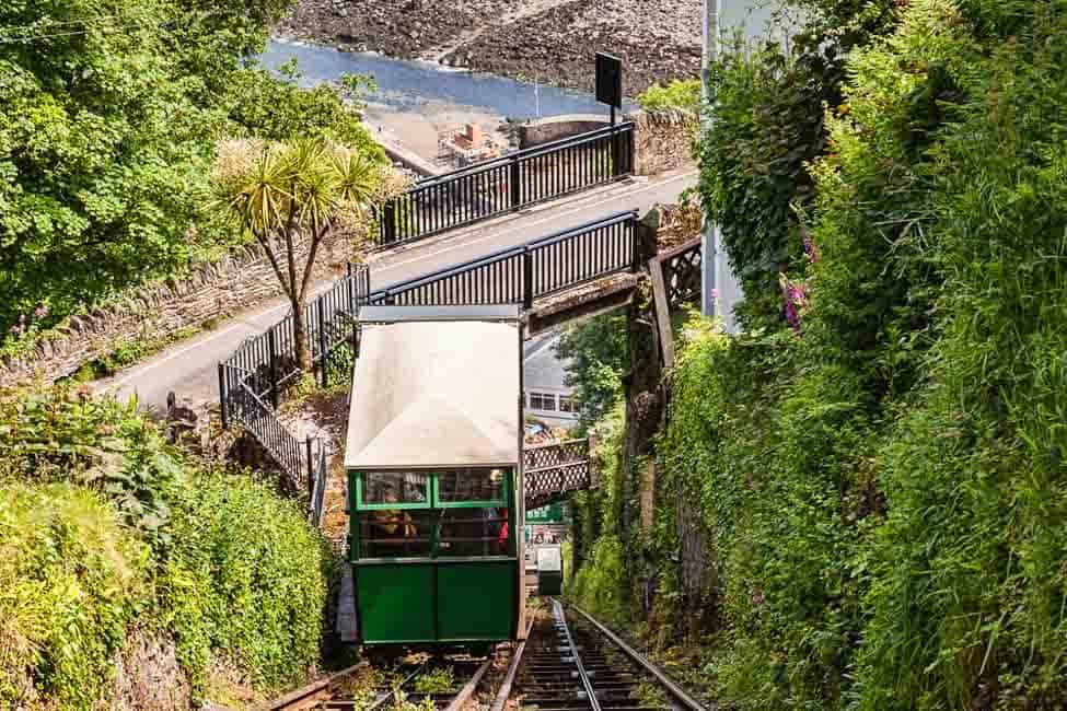 Funicular at Lynton and Lynmouth Devon