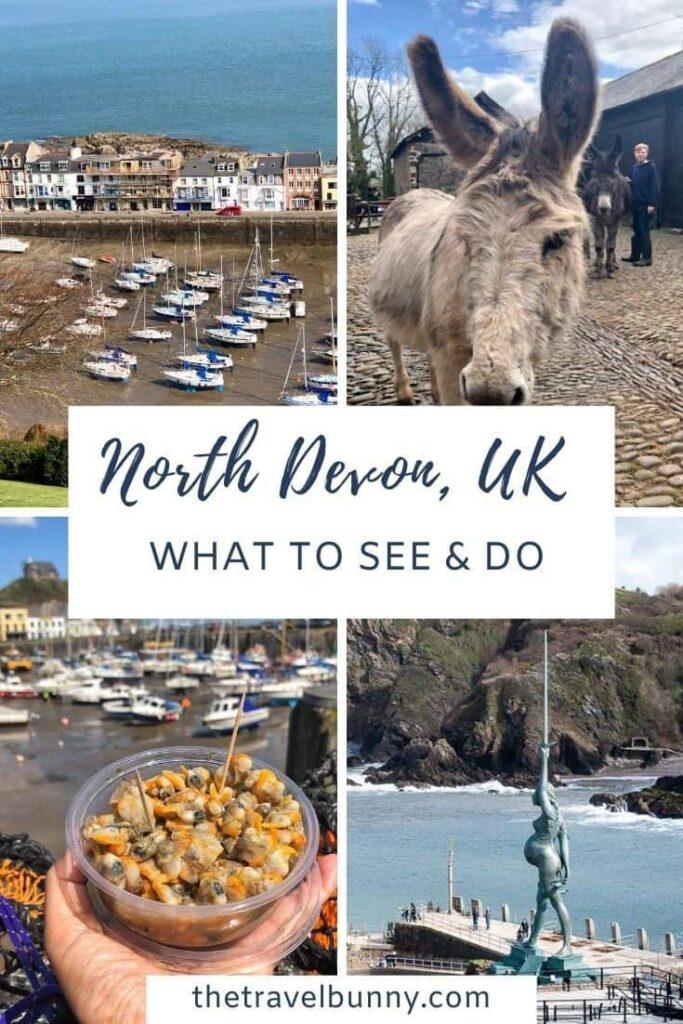North Devon photo montage