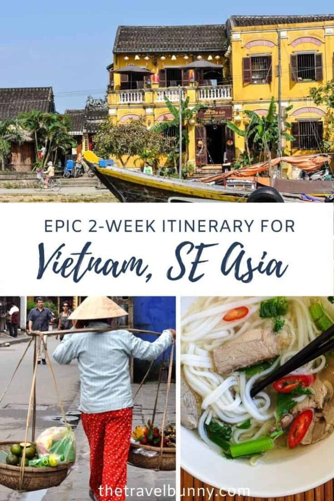 Vietnam Itinerary photo montage