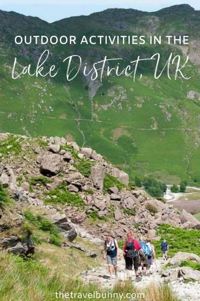 Adventure activities in the Lake District