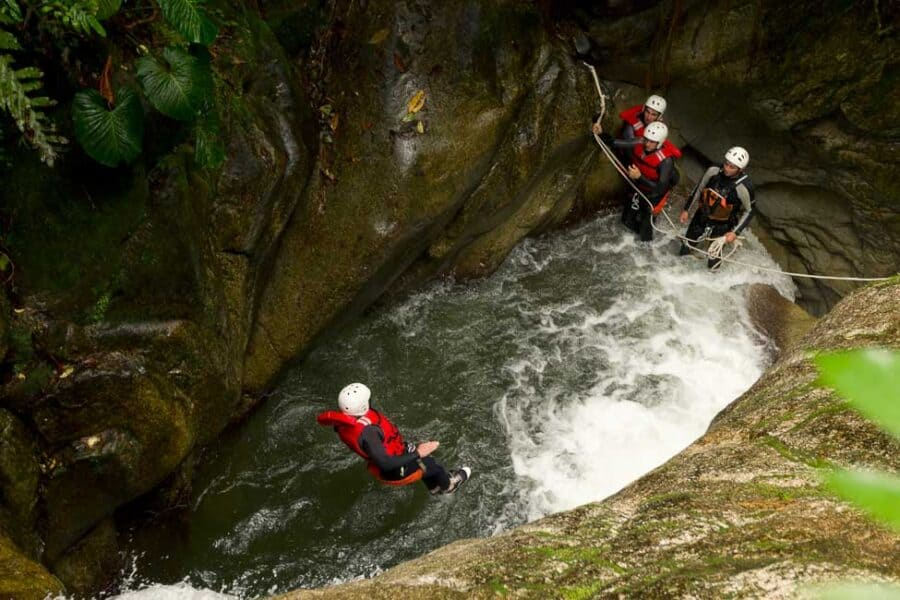 Canyoning in the Lake District