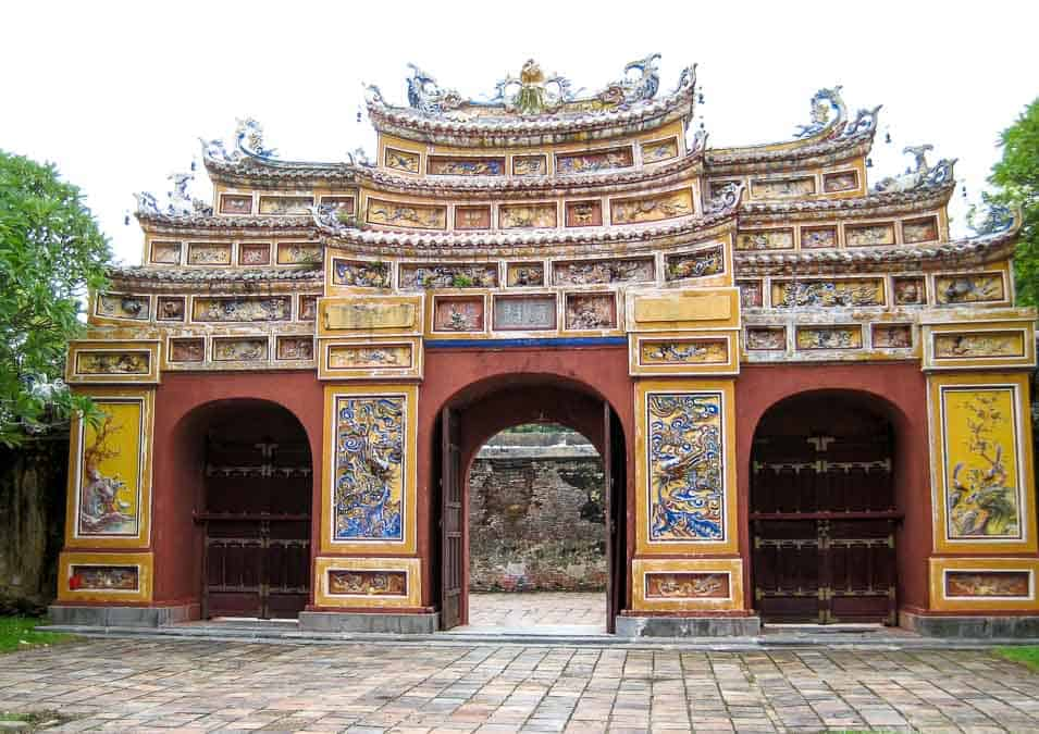 Archway Imperial City Hue, Vietnam