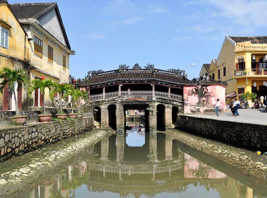 Japanese Bridge, Hoi An, Vietnam landmark