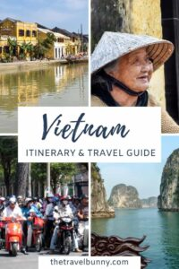 2-week Vietnam itinerary photo montage