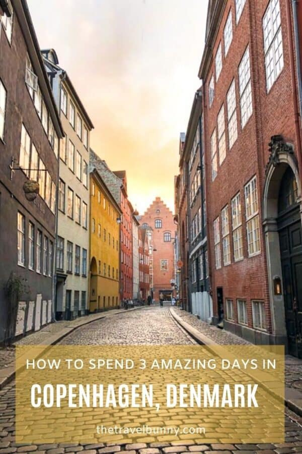3 day Copenhagen itinerary