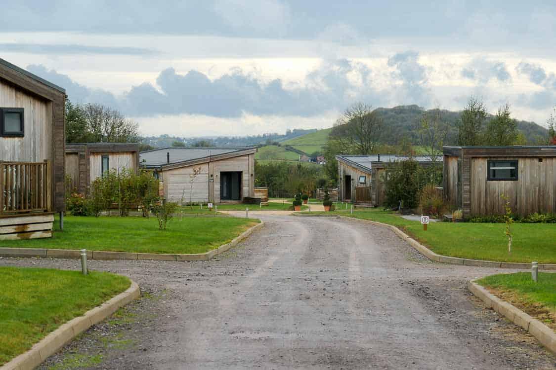 Strawberryfield Park luxury lodges Somerset