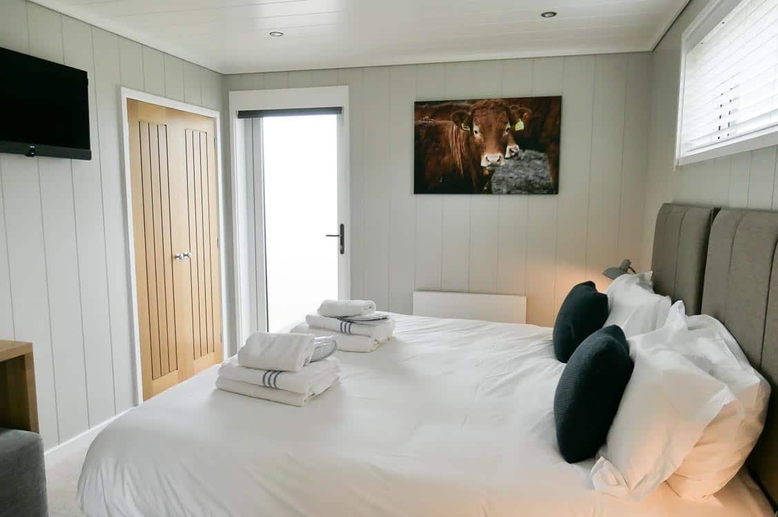 Luxury lodge Somerset - second bedroom