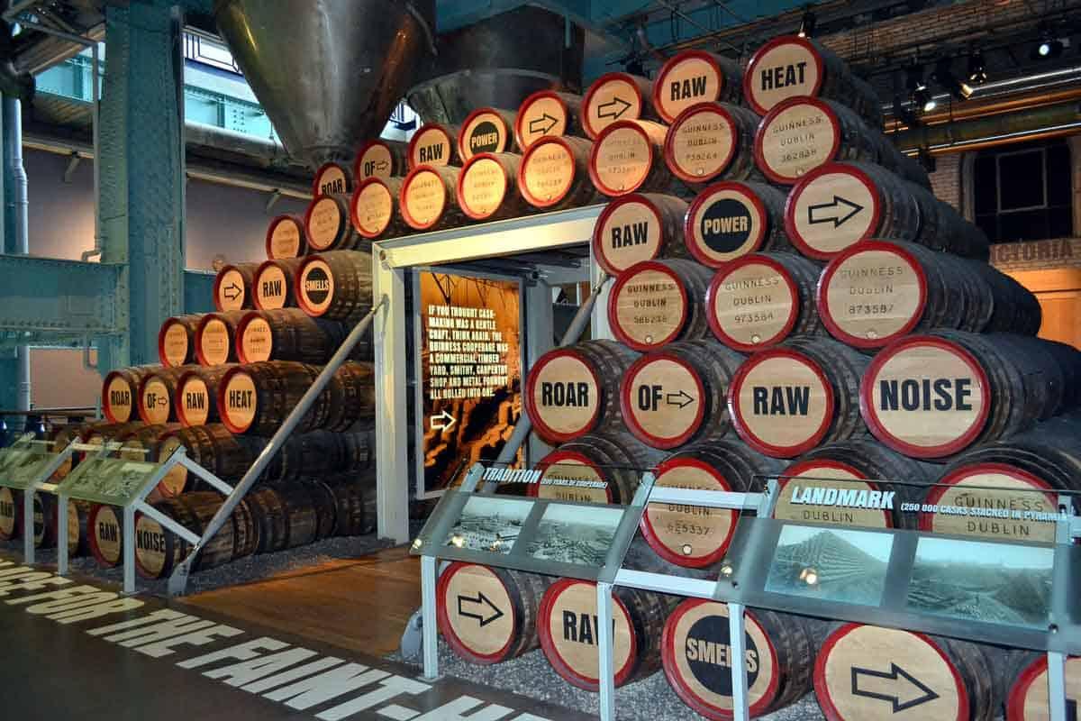 Barrels at Guinness Storehouse, Dublin
